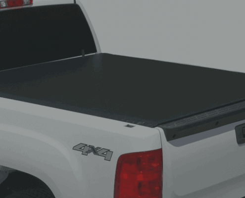 Tonno Pro LR-1050 Lo-Roll Black Roll-Up Truck Tonneau Cover