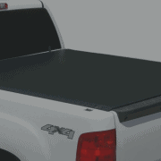 Tonno Pro LR-2020 Lo-Roll Black Roll-Up Truck Tonneau Cover