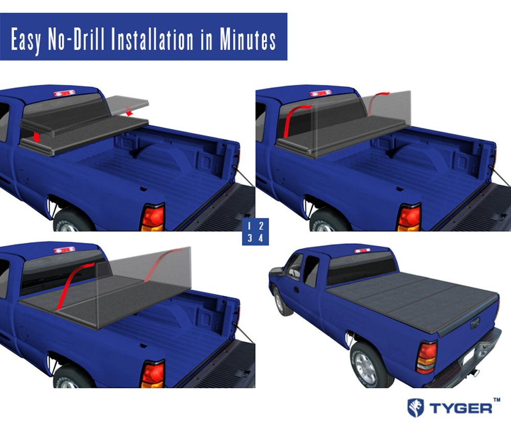Tyger Auto Tg Bc3d1011 Tri Fold Pickup Tonneau Cover Review Best Truck Bed Covers